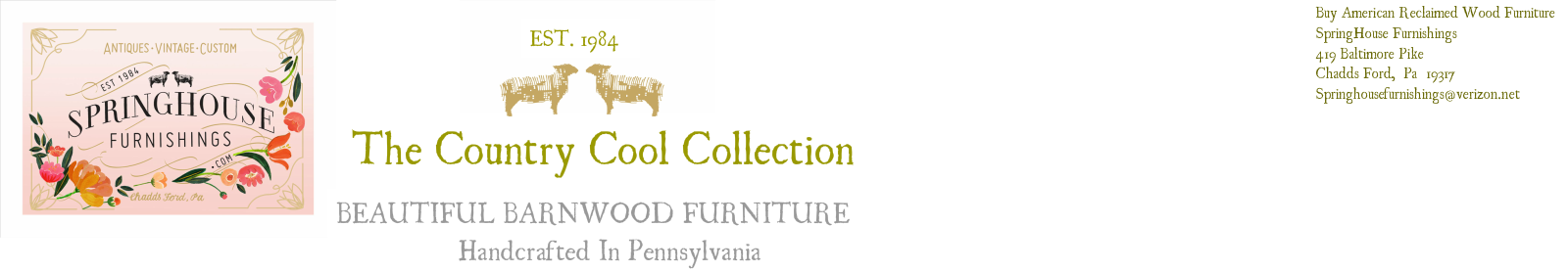 BEAUTIFUL BARNWOOD FURNITURE - Order Beautiful Handcrafted