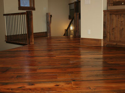 reclaimed wood floor springhouse