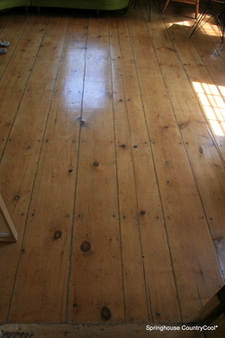 18thc pine floor south hampton,ny